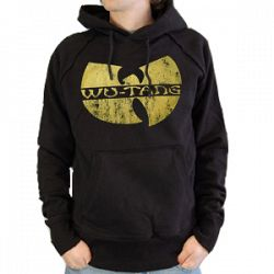 WU-TANG CLAN Hooded Sweatshirt - LOGO DISTRESSED - Sale Prices