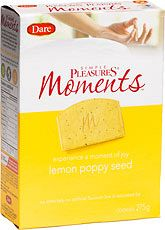 Dare Simple Pleasures Moments Cookies - Lemon Poppy Seed - 275g