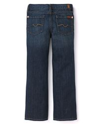 7 For All Mankind Boys' Standard NY Dark Medium Wash Jean - Sizes 4-7