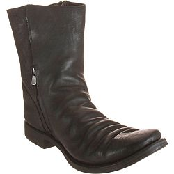 A Diciannoveventitre Double Side Zip Boot - Black size 11 Medium