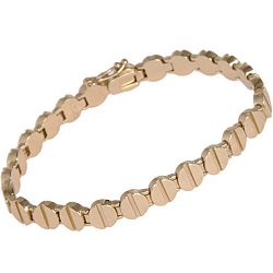 A. L. C. Jewelry Brass Screw Top Bracelet