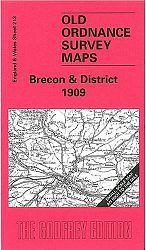 Brecon and District 1909: One Inch Map 213