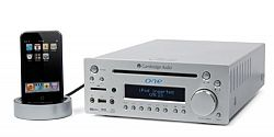Cambridge Audio One+ Amplifier / Receiver with Ipod dock /CD player / FM Radio (silver)