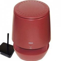 RCA RCA822C 900MHz Wireless Indoor Outdoor HiFi Stereo Speakers System With Transmitter And Receiver