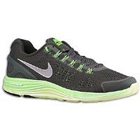 Nike LunarGlide+ 4 - Mens - Sequoia/Reflective Silver/Electric Green