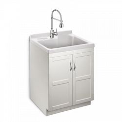 All In One Laundry Sink Cabinet : Deluxe All in One Laundry Cabinet - Sale Prices - Deals - Canadas ...