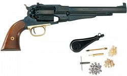 Pietta Model 1858 New Army Target .44 Caliber Revolver with Starter Kit