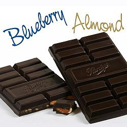 Blueberry Almond Bar – 70% Dark Chocolate - 3 Bars