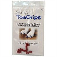 Dr Buzby S Toegrips Red Small 20 Count Sale Prices Deals