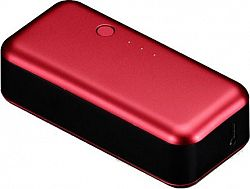Just Mobile Gum Portable USB Power 1 AMP Red
