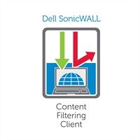 Dell sonicwall content filtering client - subscription ( 2 years ) - 25 users