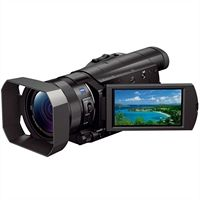Sony handycam hdr-cx900 - camcorder - high definition - 20.9 mp - 12 x optical zoom - carl zeiss - flash card - wi-fi -