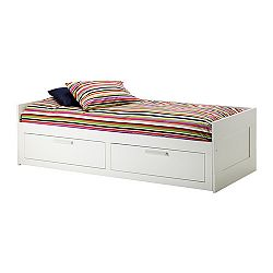 Brimnes daybed frame with 2 drawers white sale prices for Brimnes daybed ikea