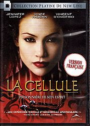 La Cellule - The Cell (English/French) 2000 (Widescreen) Doublé au Québec (Cover Bilingue)