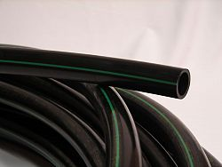 POLY PIPE 1 inches X 100 ft 100PSI Green Stripe ®