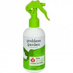Goddess Garden Organic Sunscreen - Kids Natural SPF 30 Trigger Spray - 8 oz (1524040)