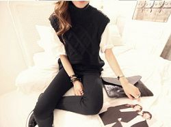 AMBER SWEATER BLACK
