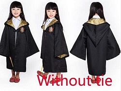 Harry Potter Robe Cloak Halloween Costumes For Kids - Kids Without Tie 3 / 12T / Harry Potter
