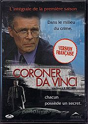 Coroner Da Vinci: L'intégrale de la saison 1 - Da Vinci's Inquest: The Complete Season One (English/French) 1998 (Full Screen) Doublé au Québec