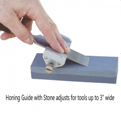 Honing Guide with Stone