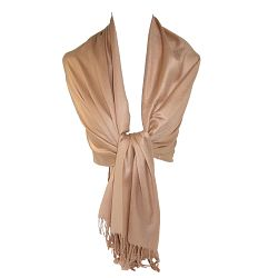 CTM Women's Classic Pashmina Wrap Scarf Shawl (Pack of 2)