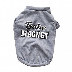 Babe Magnet T-Shirts Dogs & Cats - Gray / M / China