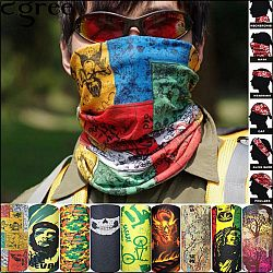 Magic Polyester Bandana Microfiber Headwear Seamless Tubular hijab Neck Tube Sports Scarf Mask Headband Motorcycle kerchief - 75