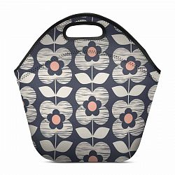 retro flowers Lunch Bag