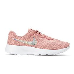 Bedazzled Pink Girls Nike Tanjun | 10.5-3 - 13.5 Little Kids / All 4 Swooshes / Pink