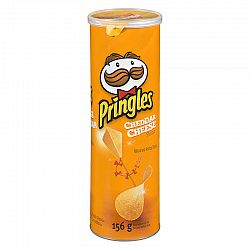 Pringles Potato Chips - Cheddar Cheese - 156g