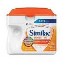 Abbott Nutrition Similac Sensitive EarlyShield Powder 657g SimplePac, Palm Olein-free, Low Osmolality - Each - Delivery every 30 Days