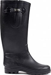 Aiglentine Fur Boots - Women's-Metalic - Black