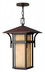 2572AR - Hinkley Lighting - Harbor - One Light Outdoor Hanging Lantern 100W Medium Base Anchor Bronze Finish - Harbor