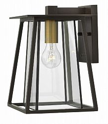 2100KZ - Hinkley Lighting - Walker - One Light Small Outdoor Wall Mount 100W Medium Base Buckeye Bronze Finish -