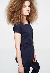 LAALE T-Shirt made of Organic Cotton - navy