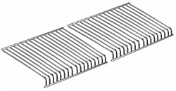 Stainless Steel Grids - 2 levels