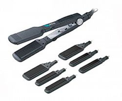 helix interchangeable flat iron crimper kit sale prices deals canada 39 s cheapest prices. Black Bedroom Furniture Sets. Home Design Ideas