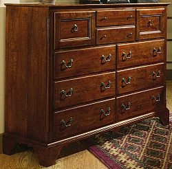 bob timberlake 833 223 warm antiqued cherry world of bob timberlake davidson high dresser with. Black Bedroom Furniture Sets. Home Design Ideas