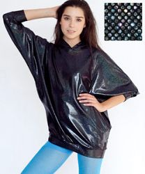 American Apparel - Shiny Dolman Sleeve Hoody - Sale Prices - Deals