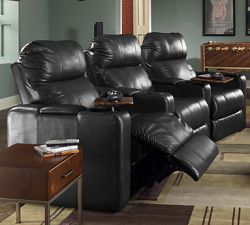 berkline furniture 12003 5341 black reno home theater single recliner