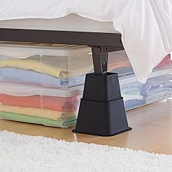Brookstone adjustable bed risers sale prices deals for Adjustable bed risers home depot