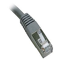 Tripp Lite N105-025-GY CAT-5E Molded Shielded Patch Cable, STP (25ft)