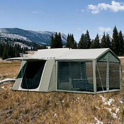 Kodiak Canvas Cabin Tent With Awning Sale Prices Deals