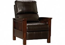 Mission Style Recliner Chair Chairs Seating Living Room Furniture