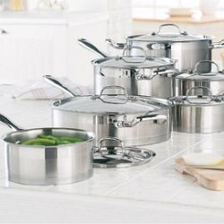 Lagostina® 12-piece 'Commerciale' Cookware Set