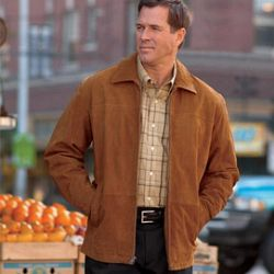 Casual Male Big & Tall® Men's Harbor Bay® Suede Front Jacket