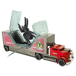 Hot Wheels - Creature Haulers Vehicle - Red Spider Transport