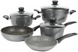 Stoneline 8 Piece Cookware Set