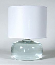 radiance clear glass fillable base table lamp sale prices deals. Black Bedroom Furniture Sets. Home Design Ideas