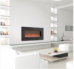 PROlectrix Wall-Mounted Electric Fireplace for $159.99 - fireplace